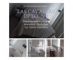 Las Catalpas departamentos por dia